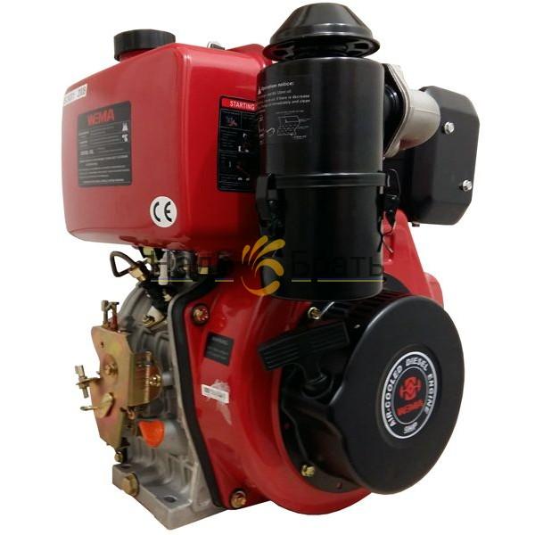 Двигатель дизельный WEIMA WM186FBE Съемный цилиндр (Вал шлицы 25 мм)