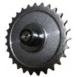 Редуктор с центробежным сцеплением на вал 19.05 мм