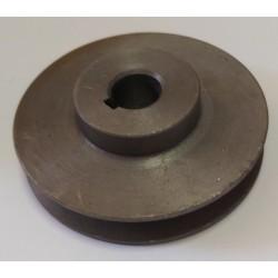 Шкив А-100 мм на вал 20 мм (1-ремень профиль А)