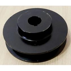 Шкив 100 мм на вал 20 мм (1-ремень профиль Б)