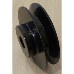 Шкив 100 мм на вал 25 мм (1-ремень профиль Б)