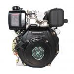 Дизельный двигатель GrunWelt GW178FE вал шлиц 25.4 мм