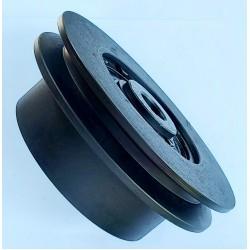 Центробежное сцепление на вал 19 мм диаметр 14 см (Под 1-ремень профиль А)