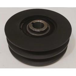 Центробежное сцепление на вал 25 мм (Диаметр 140 мм под 2-ремня профиль Б)