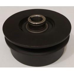 Центробежное сцепление на вал 20 мм (Диаметр 115 мм под 1-ремень Б)