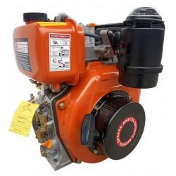 Дизельный двигатель ТАТА 186FE с Электростартером вал шлицы 25 мм