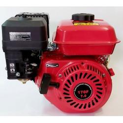 Двигатель бензиновый ТАТА 170F (Вал шпонка 20 мм)